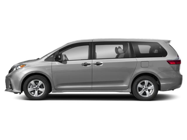 Celestial Silver Metallic 2020 Toyota Sienna Pictures Sienna L FWD 7-Passenger photos side view