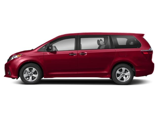 Salsa Red Pearl 2020 Toyota Sienna Pictures Sienna L FWD 7-Passenger photos side view