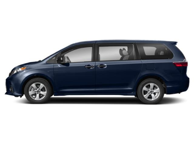 Parisian Night Pearl 2020 Toyota Sienna Pictures Sienna L FWD 7-Passenger photos side view