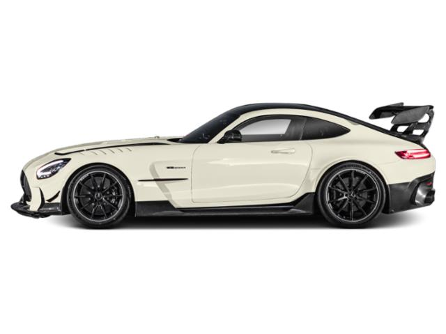designo Diamond White 2021 Mercedes-Benz AMG GT Pictures AMG GT AMG GT Black Series Coupe photos side view
