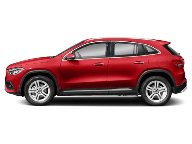 Patagonia Red Metallic 2021 Mercedes-Benz GLA Pictures GLA GLA 250 SUV photos side view