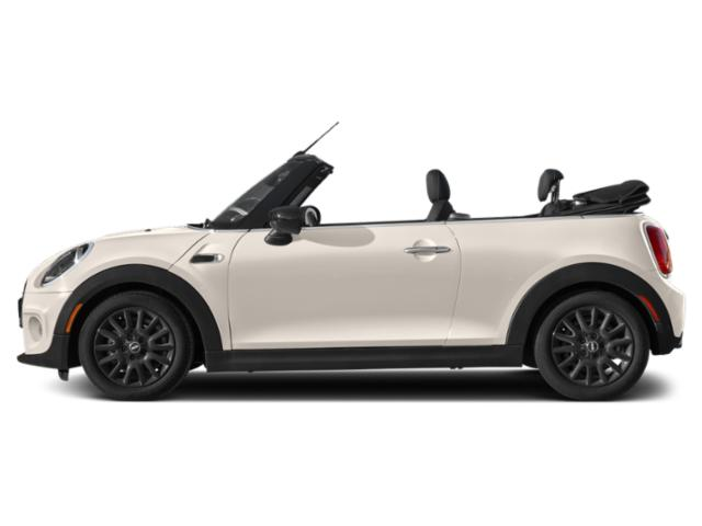 Pepper White 2021 MINI Convertible Pictures Convertible Cooper FWD photos side view