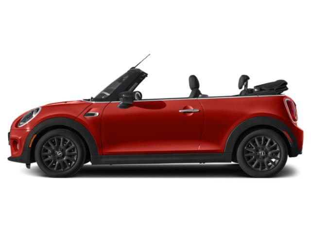 Chili Red 2021 MINI Convertible Pictures Convertible Cooper FWD photos side view