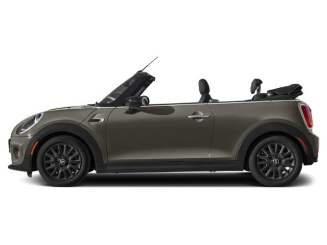 Emerald Grey Metallic 2021 MINI Convertible Pictures Convertible Cooper FWD photos side view