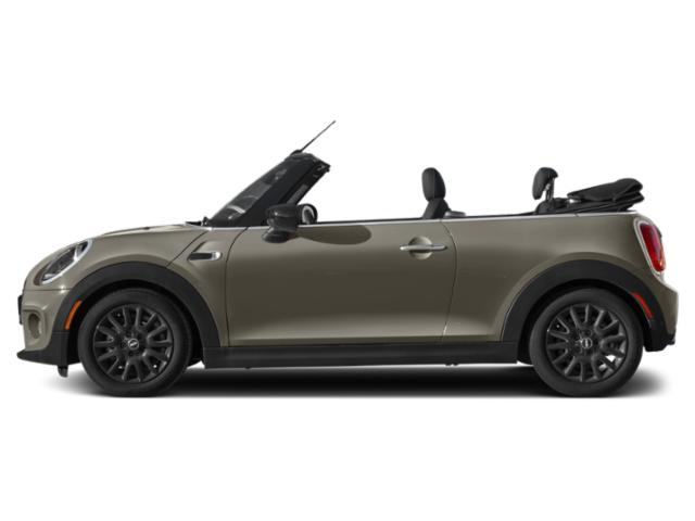 Melting Silver Metallic 2021 MINI Convertible Pictures Convertible Cooper FWD photos side view