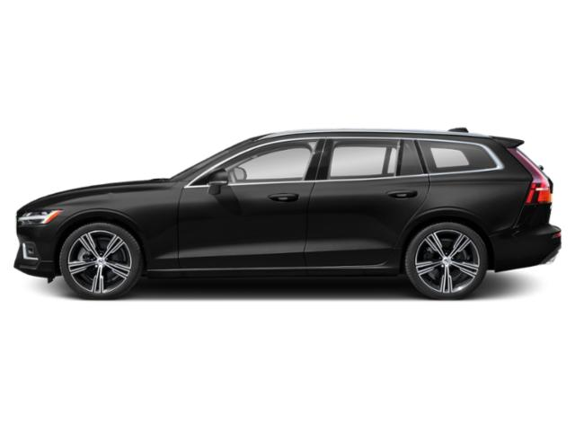 Black Stone 2021 Volvo V60 Pictures V60 T5 FWD Momentum photos side view