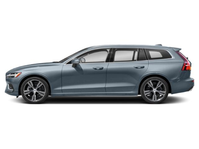 Osmium Grey Metallic 2021 Volvo V60 Pictures V60 T5 FWD Momentum photos side view