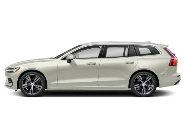 Birch Light Metallic 2021 Volvo V60 Pictures V60 T5 FWD Momentum photos side view