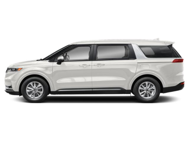 Snow White Pearl 2022 Kia Carnival Pictures Carnival LX FWD photos side view