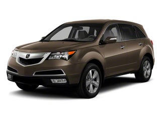 Mocha Metallic 2010 Acura MDX Pictures MDX Utility 4D AWD photos front view