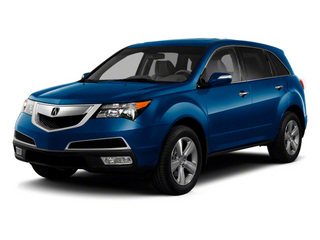 Bali Blue Pearl 2010 Acura MDX Pictures MDX Utility 4D Technology AWD photos front view