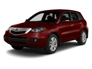 Basque Red Pearl 2010 Acura RDX Pictures RDX Utility 4D AWD photos front view