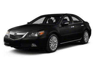 Crystal Black Pearl 2010 Acura RL Pictures RL Sedan 4D AWD photos front view