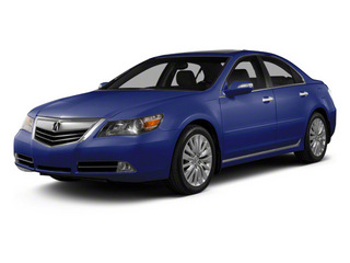 Opulent Blue Pearl 2010 Acura RL Pictures RL Sedan 4D Technology photos front view