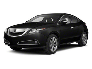 Crystal Black Pearl 2010 Acura ZDX Pictures ZDX Utility 4D AWD photos front view