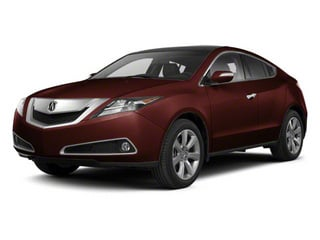 Dark Cherry Pearl 2010 Acura ZDX Pictures ZDX Utility 4D Technology AWD photos front view