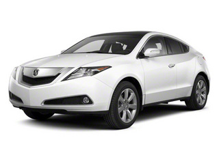 Aspen White Pearl 2010 Acura ZDX Pictures ZDX Utility 4D Technology AWD photos front view
