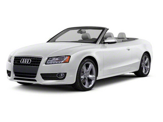 Ice Silver Metallic 2010 Audi A5 Pictures A5 Convertible 2D S-Line Quattro photos front view