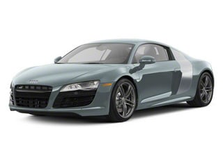 Jet Blue Metallic With Ice Silver Sideblades 2010 Audi R8 Pictures R8 2 Door Coupe Quattro 5.2l (manual) photos front view