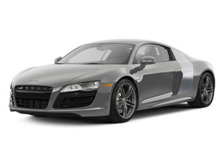 Daytona Gray Pearl With Quartz Gray Sideblades 2010 Audi R8 Pictures R8 2 Door Coupe Quattro 5.2l (manual) photos front view