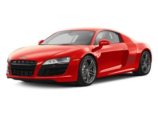 Brilliant Red With Brilliant Red Sideblades 2010 Audi R8 Pictures R8 2 Door Coupe Quattro 5.2l (manual) photos front view