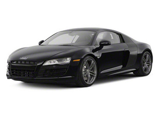 Phantom Black Pearl With Lava Gray Sideblades 2010 Audi R8 Pictures R8 2 Door Coupe Quattro 5.2l (manual) photos front view