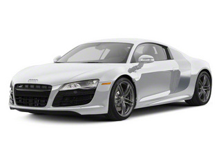 Ice Silver Metallic With Apollo Silver Sideblades 2010 Audi R8 Pictures R8 2 Door Coupe Quattro 5.2l (manual) photos front view