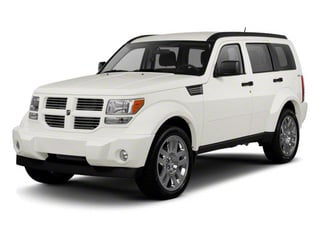 Stone White 2010 Dodge Nitro Pictures Nitro Utility 4D Shock 2WD photos front view