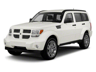 Stone White 2010 Dodge Nitro Pictures Nitro Utility 4D SE 2WD photos front view