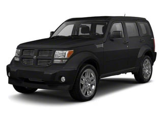 Brilliant Black Crystal Pearl 2010 Dodge Nitro Pictures Nitro Utility 4D Shock 2WD photos front view