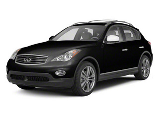 Black Obsidian 2010 INFINITI EX35 Pictures EX35 Wagon 4D AWD photos front view
