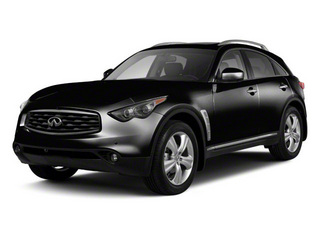 Black Obsidian 2010 INFINITI FX35 Pictures FX35 FX35 AWD photos front view