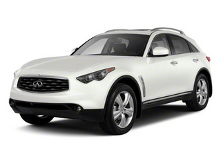 Moonlight White 2010 INFINITI FX35 Pictures FX35 FX35 2WD photos front view