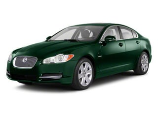 Botanical Green 2010 Jaguar XF Pictures XF Sedan 4D Supercharged photos front view
