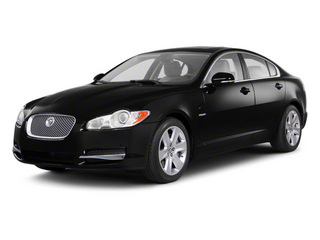 Ebony 2010 Jaguar XF Pictures XF Sedan 4D Supercharged photos front view