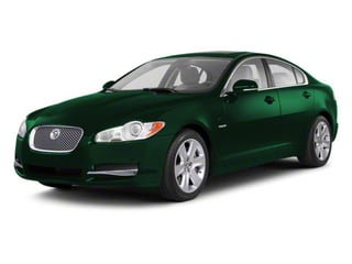 Emerald Fire 2010 Jaguar XF Pictures XF Sedan 4D Supercharged photos front view