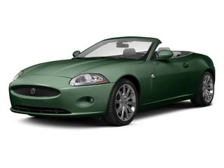 Botanical Green 2010 Jaguar XK Pictures XK Convertible XKR Supercharged photos front view