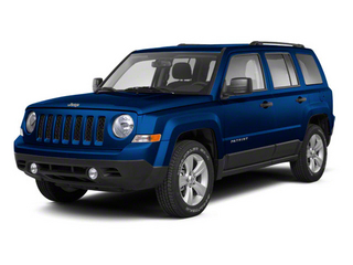 Deep Water Blue Pearl 2010 Jeep Patriot Pictures Patriot Utility 4D Sport 2WD photos front view