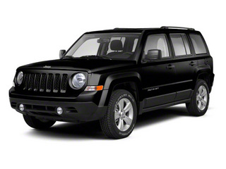 Brilliant Black Crystal Pearl 2010 Jeep Patriot Pictures Patriot Utility 4D Sport 2WD photos front view