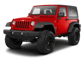 Flame Red 2010 Jeep Wrangler Pictures Wrangler Utility 2D Sport 4WD photos front view