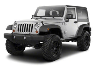 Bright Silver Metallic 2010 Jeep Wrangler Pictures Wrangler Utility 2D Sport 4WD photos front view