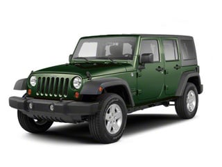 Natural Green Pearl 2010 Jeep Wrangler Unlimited Pictures Wrangler Unlimited Utility 4D Unlimited Sport 4WD photos front view