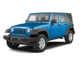 Surf Blue Pearl 2010 Jeep Wrangler Unlimited Pictures Wrangler Unlimited Utility 4D Unlimited Sport 4WD photos front view