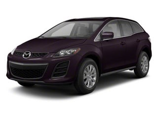 Black Cherry Mica 2010 Mazda CX-7 Pictures CX-7 Wagon 4D I 2WD photos front view