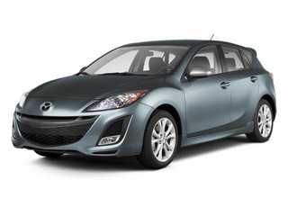 Gunmetal Blue Mica 2010 Mazda Mazda3 Pictures Mazda3 Wagon 5D s photos front view