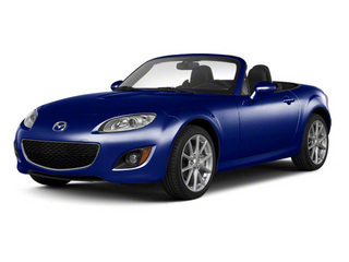 Stormy Blue Mica 2010 Mazda MX-5 Miata Pictures MX-5 Miata Convertible 2D Sport photos front view