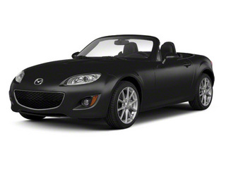 Brilliant Black Clearcoat 2010 Mazda MX-5 Miata Pictures MX-5 Miata Convertible 2D Sport photos front view