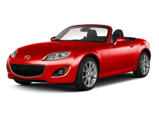 True Red 2010 Mazda MX-5 Miata Pictures MX-5 Miata Convertible 2D GT photos front view