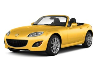 Competition Yellow 2010 Mazda MX-5 Miata Pictures MX-5 Miata Convertible 2D Sport photos front view