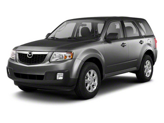 Monterey Gray 2010 Mazda Tribute Pictures Tribute Utility 4D s 4WD photos front view
